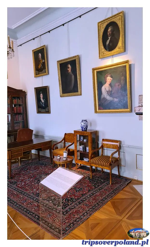 Pałac w Nieborowie'2021 - gabinet Biblioteczny