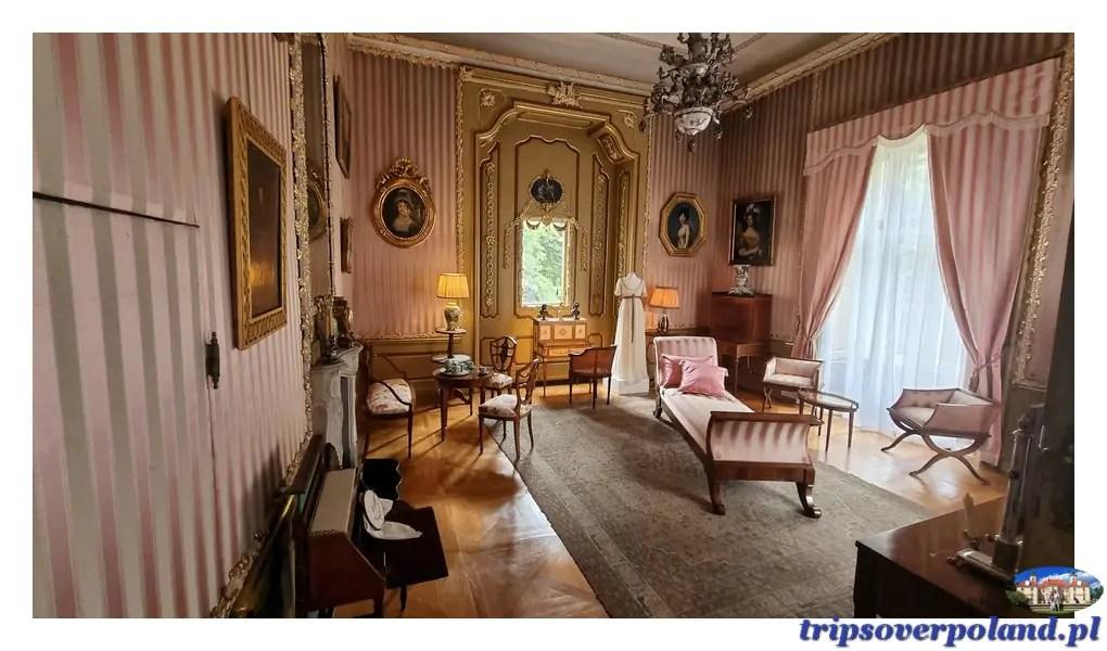 Pałac w Nieborowie'2021 - pokój Wieżowy