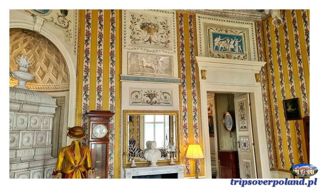 Pałac w Nieborowie'2021 - gabinet Żółty