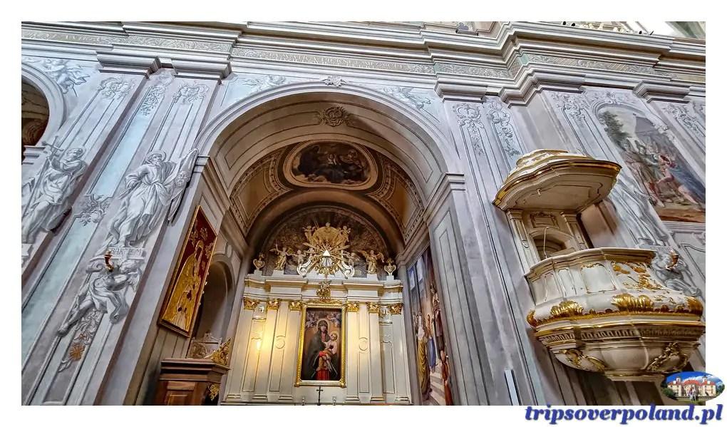 Tykocin - Kościół parafialny pod wezwaniem Trójcy Przenajświętszej