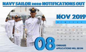 Indian Navy Sailor Recruitment 2020 ( Nausena Bharti)