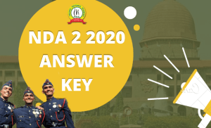 NDA 2 Answer Key 2020