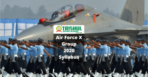 AirForce 2020 X Group Syllabus
