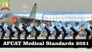 AFCAT Medical Standards 2021