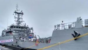 GRSE supplies eighth LCU vessel to Indian Navy