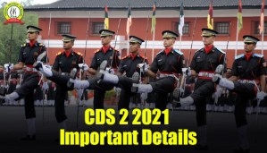 CDS 2 2021 Exam Date And Notification