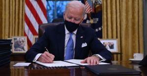 US President Joe Biden cancels Trump's green card ban