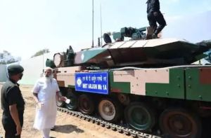 Prime Minister Modi assigns Arjun Tank M-1A to Indian Army