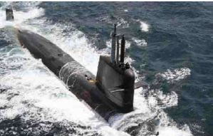 Indian Navy Gets Third Scorpene Submarine INS Karanj