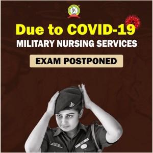 Exam for MNS 2021 Postponed