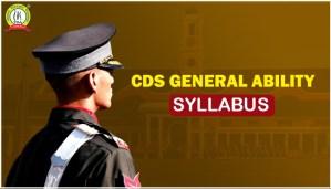 CDS General Ability Syllabus