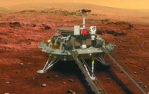 China created history, Churong rover reached Mars