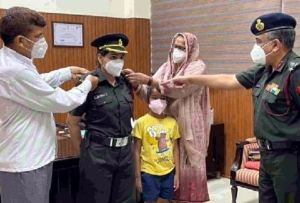 Nisha Sheoran, Daughter Of Haryana Becomes Captain In Indian Army