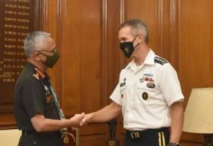 Army Chief Naravane talks with senior US commander General Richard de Klerk