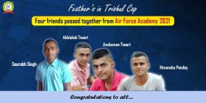 Four Trishulians Join Air Force At Once ! Air Force X Group Success Stories