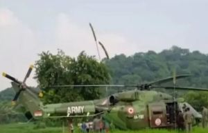 Another Army Helicopter make an emergency landing in Pathankot