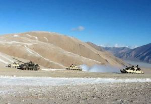Indo-China armies retreated from Gogra in Eastern Ladakh