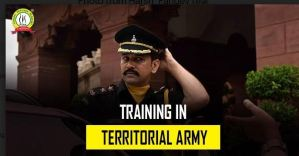 Training In Territorial Army