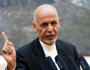 Afghanistan President Ashraf Ghani Addresses Nation As Taliban Nears Kabul