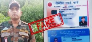 Fake Army Soldier Claimed To Para SF Commando Arrested