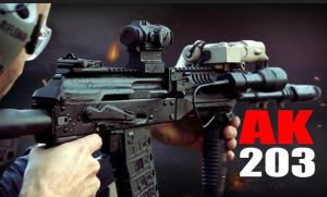 Indian Army Will Get AK-203 Rifle Now