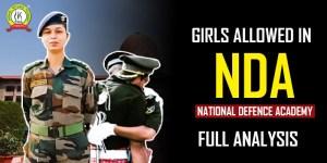 Girls Allowed To Take NDA Exam : Full Analysis