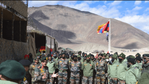 Indian Army 14th Corps Military Exercise In Ladakh