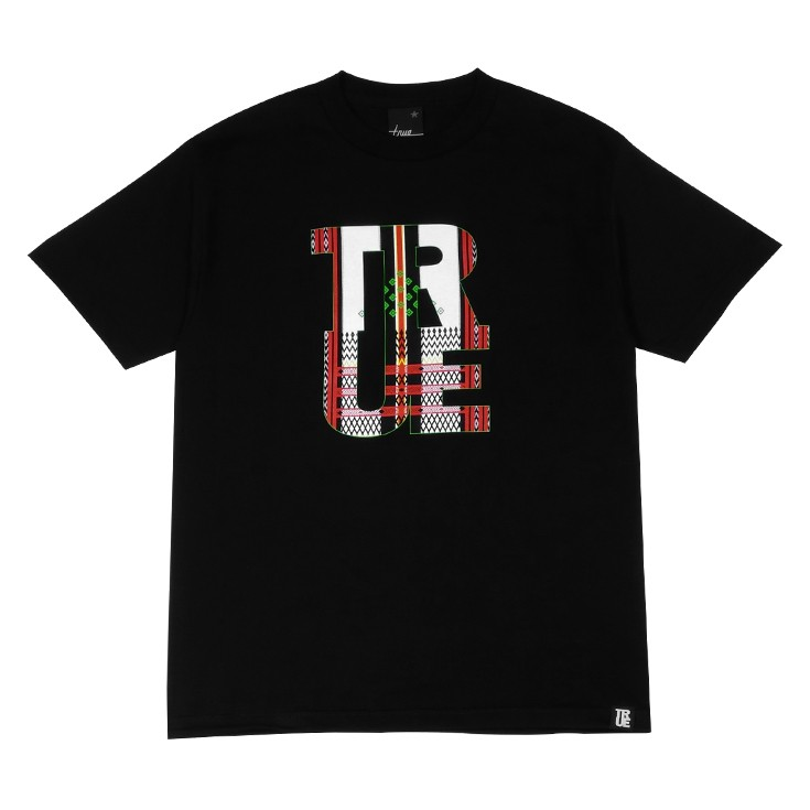 Mens True Ifugao T-Shirt Black/Red/Green