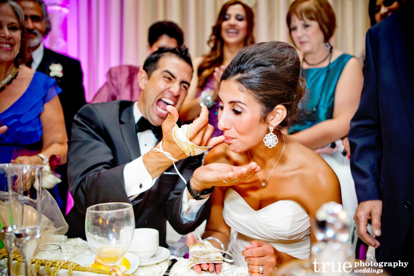 A Wedding Coordinated by La Dolce Idea at the Bahia Hotel