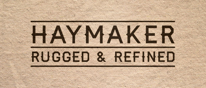 Haymaker Font