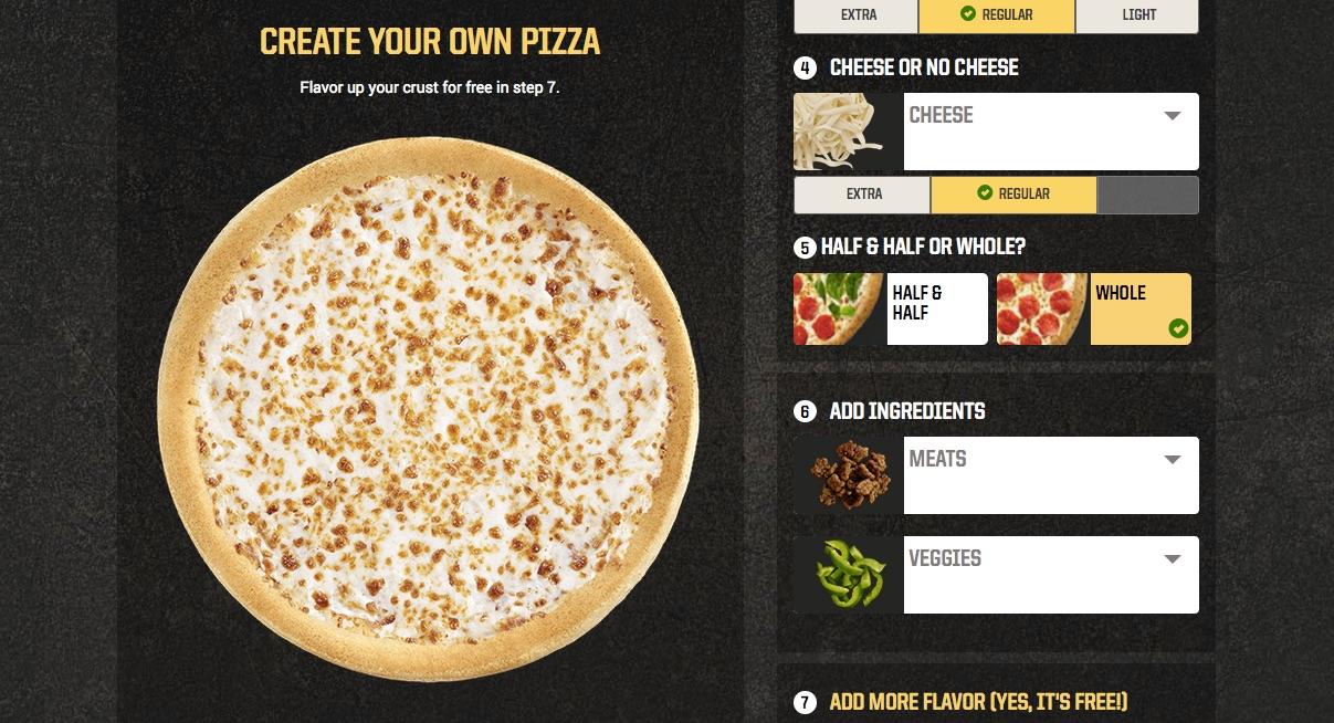 Domino's Vs Pizza Hut Ux Wars  Trymyui Blog