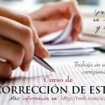 curso de correccion de estilo-Madrid