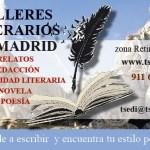 Talleres literarios Madrid