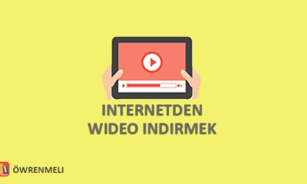 Internetden Video indirmek