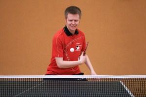 Tischtennis Spielen mit Matthias Bormann