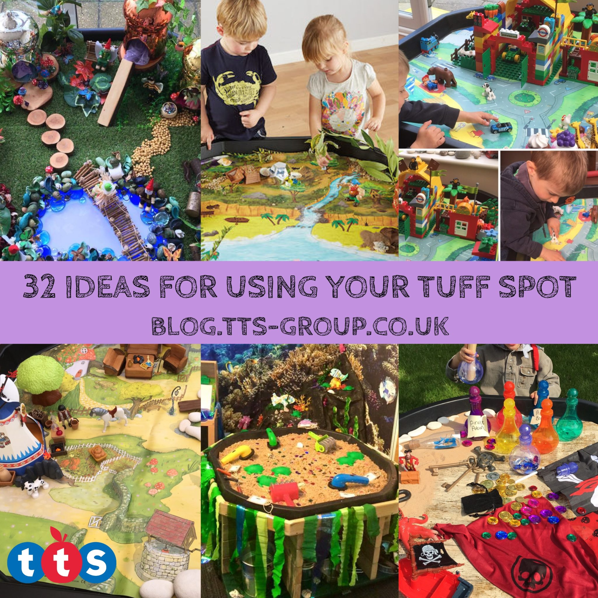 32 Ideas For Using Your Active World Tuff Spot Tray
