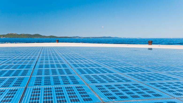 Het monument voor de zon in Zadar