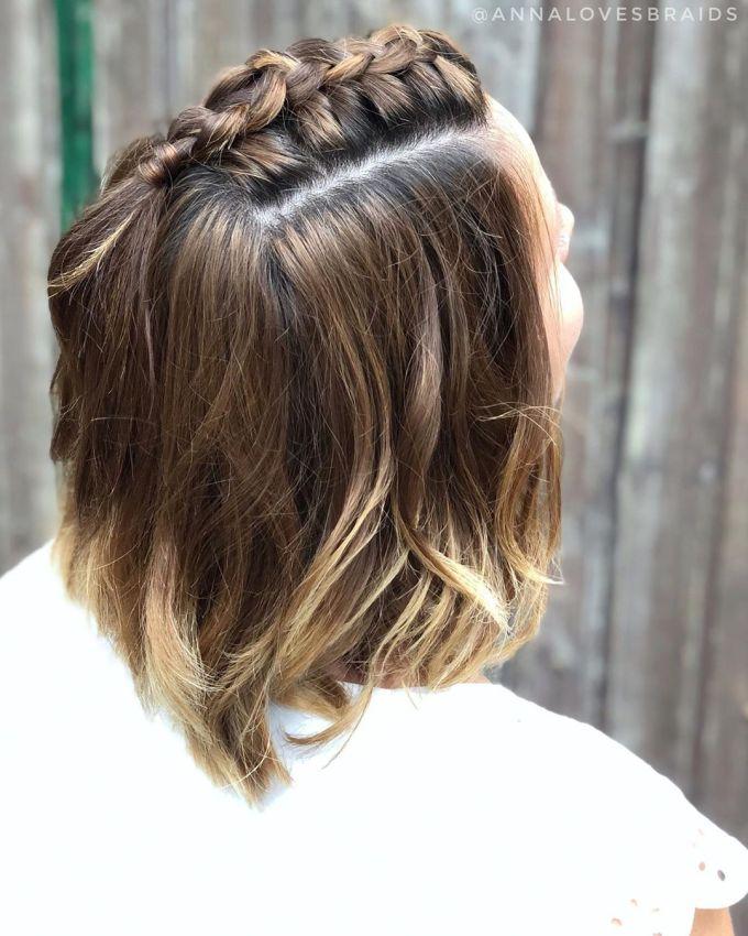 Ideias de penteados para cabelo curto dia a dia 2022