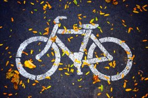 carril bici otono