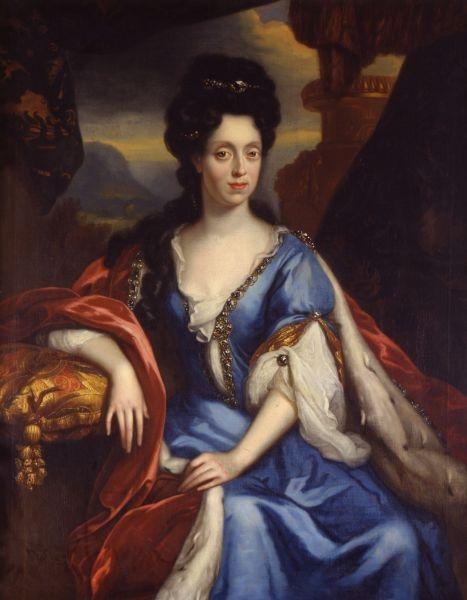 01 Electress Anna  Maria Luisa de' Medici by Jan Frans van Douven