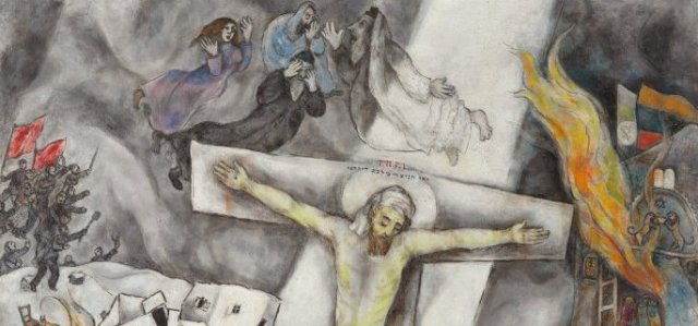03 Marc Chagall, White Crucifixion, 1938, Art Institute of Chicago