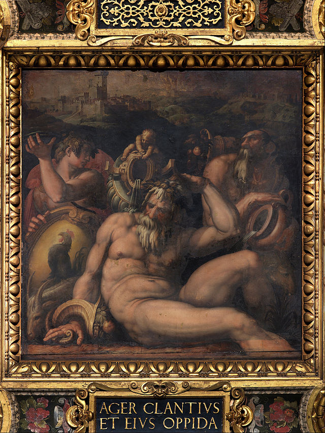 04 Allegory of Chianti by Giorgio Vasari
