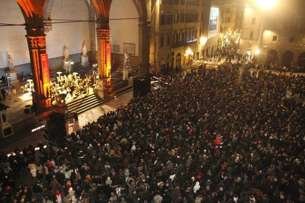 04 New Year's Eve Concert in Piazza Signoria