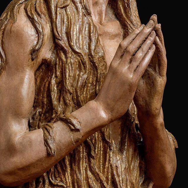 05 Donatello, detail of Magdalene Penitent c. 1455