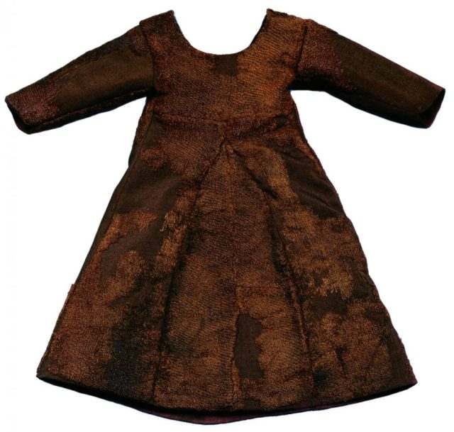 Woollen child's dress, Greenland, mid 14th-century, National Museum of Denmark, Copenhagen