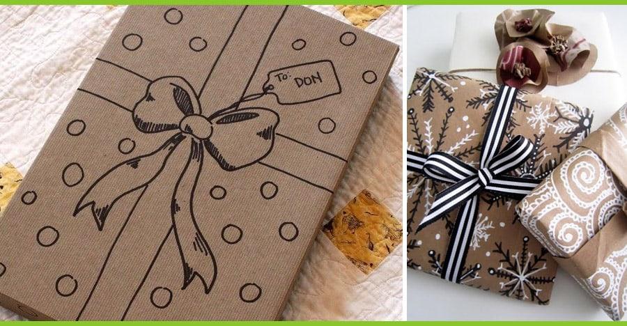PACCHETTI REGALO 5 Idee per impacchettare i regali di Natale