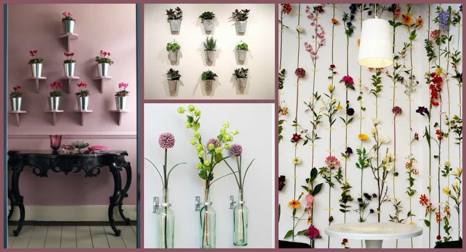 DIY  10 idee su come decorare una parete di casa
