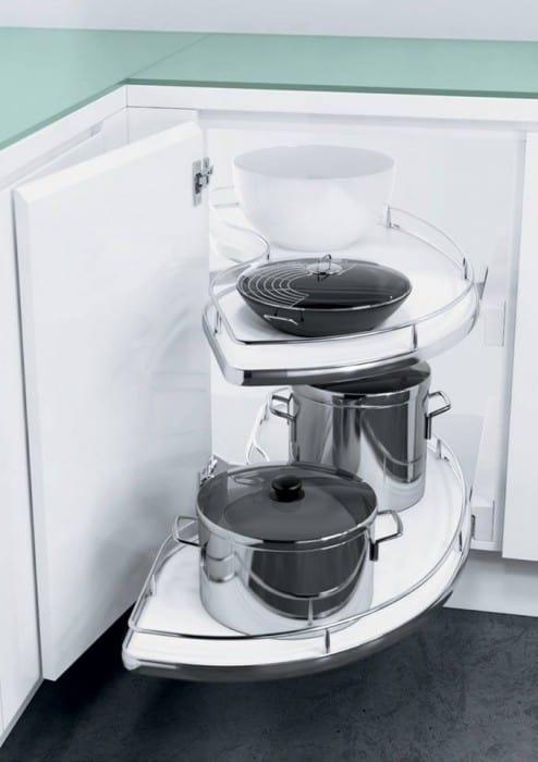 Ferramenta per mobili da cucina ad angolo Vauth Sagel di