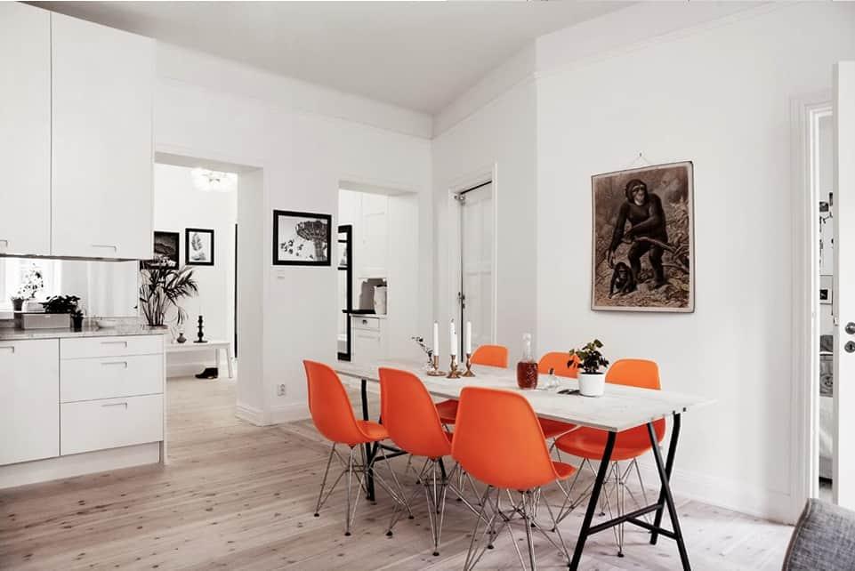 Orange is the new black  idee creative per arredare