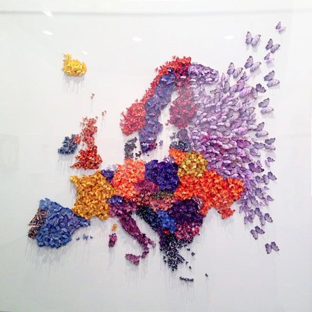 ART VERONA Idee artistiche e originali per decorare una parete  Tuttoferramentait